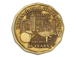 Atlanta International Convention Medallion