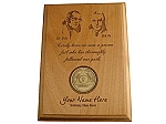 Personalized AA Medallion Display Plaque