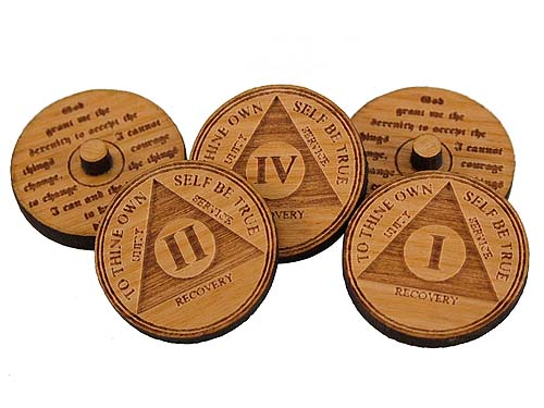 Miniature Aa Anniversary Medallion Golf Ball Markers
