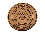 Personalized AA Recovery Medallion