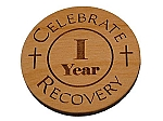 Celebrate Recovery Year Medallion