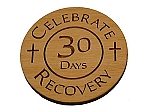 Celebrate Recovery 1 Month Chip