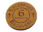 Celebrate Recovery 6 Month Chip