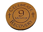 Celebrate Recovery 9 Month Chip