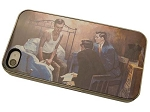 The Man On The Bed - iPhone Cover