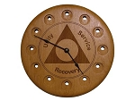 AA Medallion Holder Clock