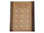 Deluxe 12 Piece Medallion Holder/Display