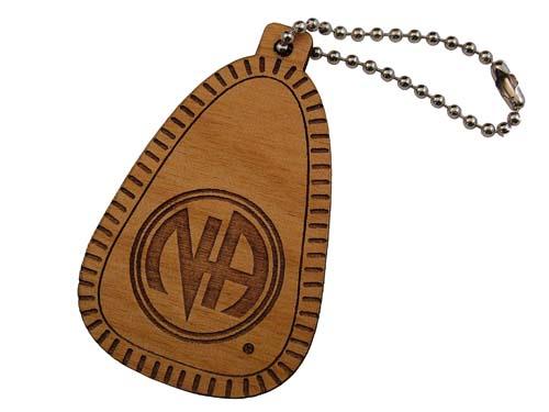 wooden key fob 1