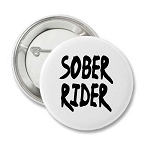 Sober Rider - Recovery Badge