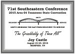 TN State Convention Speaker Plaque