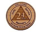 Personalized Homegroup Welcome Chip