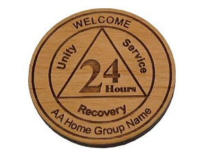 Personalized 24 Hour Welcome Chip