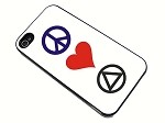 Peace, Love, AA - iPhone Cover