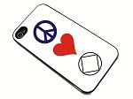 Peace, Love, NA - iPhone Case