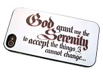 The Serenity Prayer - iPhone Cover