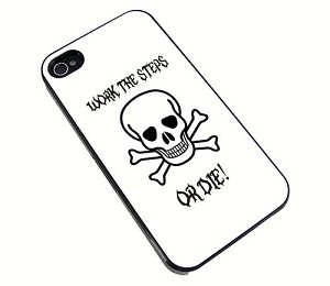 Work The Steps or Die iPhone Case