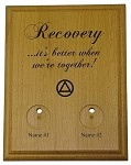 AA Medallion Holder - Better Together