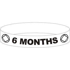 NA 6 Month Wristband - BLUE