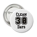 Days Clean Button