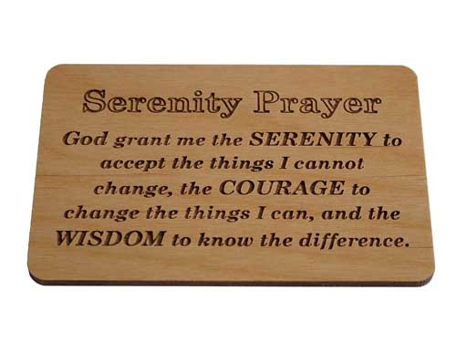 picture regarding Printable Serenity Prayer referred to as Serenity Prayer Picket Plaque Alcoholics Nameless Restoration Items