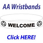 AA Chip Color Wristbands