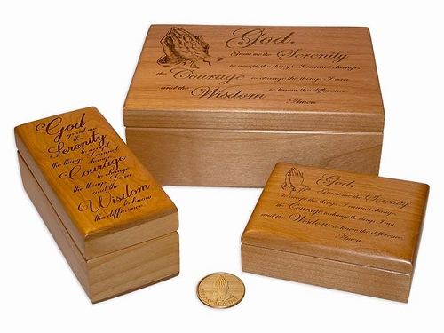 Serenity Prayer God Boxes
