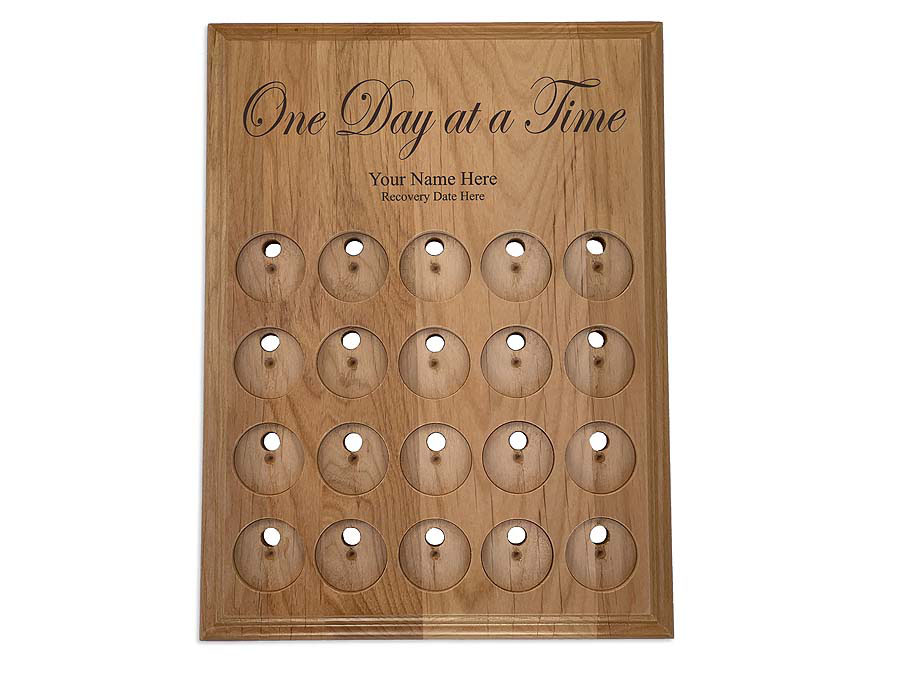 20 Slot One Day at a Time Medallion Holders