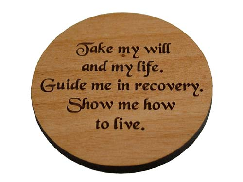 18 Month Wooden Na Anniversary Medallions And Recovery
