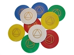 Plastic Tokens AA Group Starter Kit