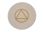 White AA Token - Plastic Chips