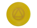 Yellow AA Poker Chip