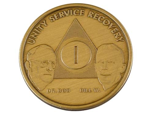 Aa Founders Anniversary Medallions Alcoholics Anonymous