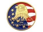 Paint on Demand Veterans In Recovery Coin