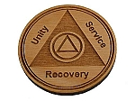 Recovery Medallion - Alder Welcome Chip