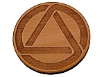 Circle and Triangle Welcome Medallion