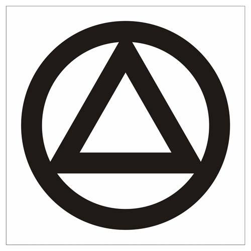 Aa Circle Amp Triangle Vinyl Decal Sticker Window Graphics