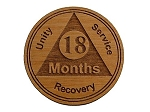 18 Month Wooden AA Chip