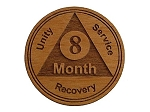 8 Month Wooden AA Chip