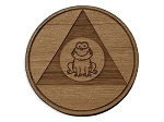 Wooden AA FROG Chips