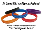 AA Group Wristband Special