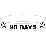 AA 90 DAY Wristband - RED