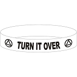 Turn It Over AA Wristband