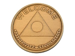 Bronze Al-Anon Welcome Chip