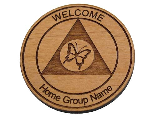 Personalized Al Anon Welcome Chips Custom Tokens And Coins For