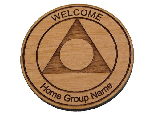 Custom Al Anon Welcome Chips Personalized Tokens And Coins For Al
