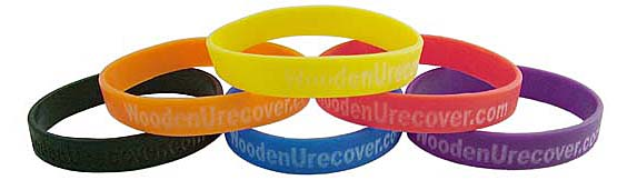 Personalized Recovery Silicone Wristbands