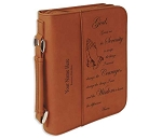 Big Book Case - Rawhide Leatherette w/Serenity Prayer