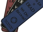 Personalized The Lie Is Dead NA Bookmark