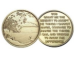Serenity Prayer Medallion