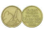 We Can't Control The Wind Medallion